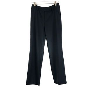 Escada 100% Wool Navy Blue Trousers